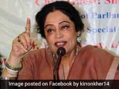 """Chandigarh Is Asking Where's Our MP"": Congress's Swipe At Kirron Kher"