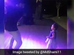 Virat Kohli Dancing With Mohammed Shami's Daughter Is Cuteness Overload