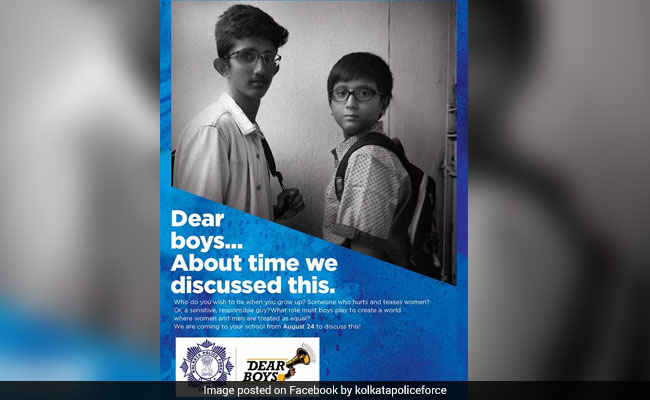 Kolkata Police Say 'Dear Boys' For A Safer City