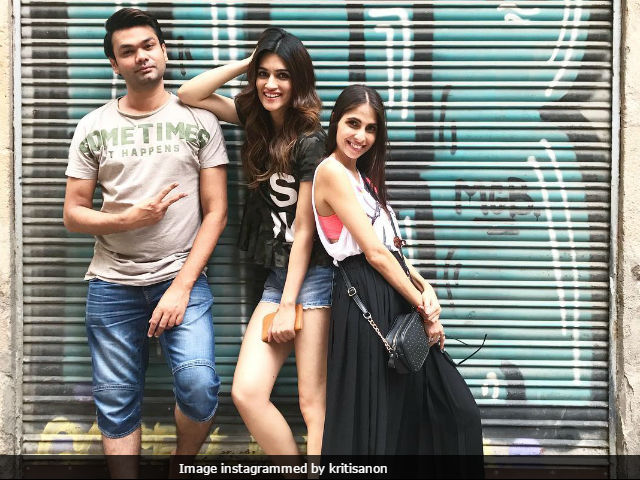 Kriti Sanon Is Celebrating The Success Of Bareilly Ki Barfi In Spain