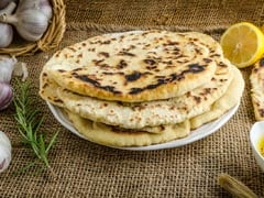 Watch: How To Make Garlic Naan At Home Without Tandoor, Oven And Yeast