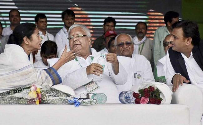 बीजेपी ने आरजेडी का उड़ाया मजाक, कहा- लालू प्रसाद की पटना रैली रही फ्लाप