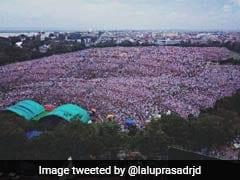 पटना रैली की तस्वीर ट्विटर पर शेयर कर फंस गए लालू यादव, लोगों ने कहा- यहां भी 'घोटाला' कर दिया