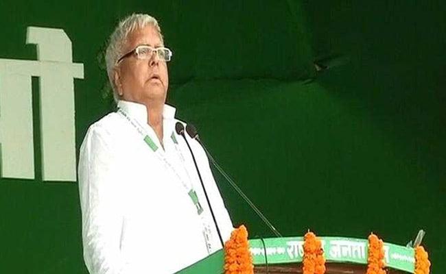 लालू प्रसाद ने नीतीश कुमार पर कसा तंज, पूछा-बाढ़ की वजह 'दो पैर' वाले चूहे या 'चार पैर' वाले