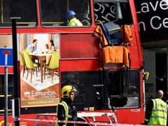 London Double-Decker Bus Crashes Into Building, 10 People Injured