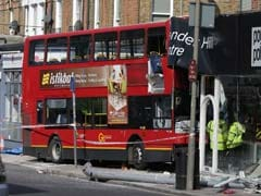 London Double-Decker Bus Crashes Into Building, Passengers Injured
