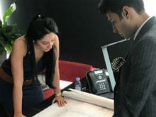 Sanjay Dutt's Daughter Trishala 'Hearts' Maanyata's Work Place Pic
