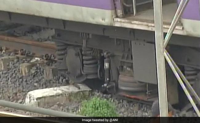 Suburban Train Derails Near Mahim On Harbour Line, 5 Injured