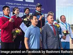 Mairaj Ahmad Khan-Rashmmi Rathore Pair Wins Gold, End India's Asian Championship Campaign On High