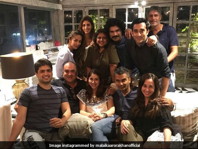 Malaika Arora Partied Midweek With Shweta Bachchan Nanda. See Pic