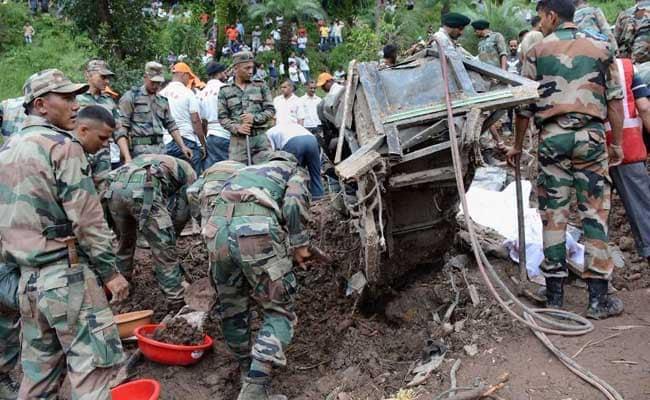 46 Dead In Himachal Pradesh Landslide, Rescue Operations Resume