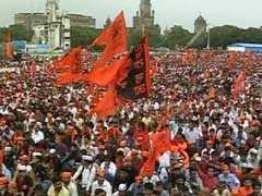 Estimated 800,000 Protestors Stop Traffic, Trains In Mumbai