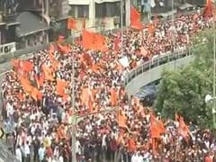Mega Silent March In Mumbai By Maratha Groups Over Quota
