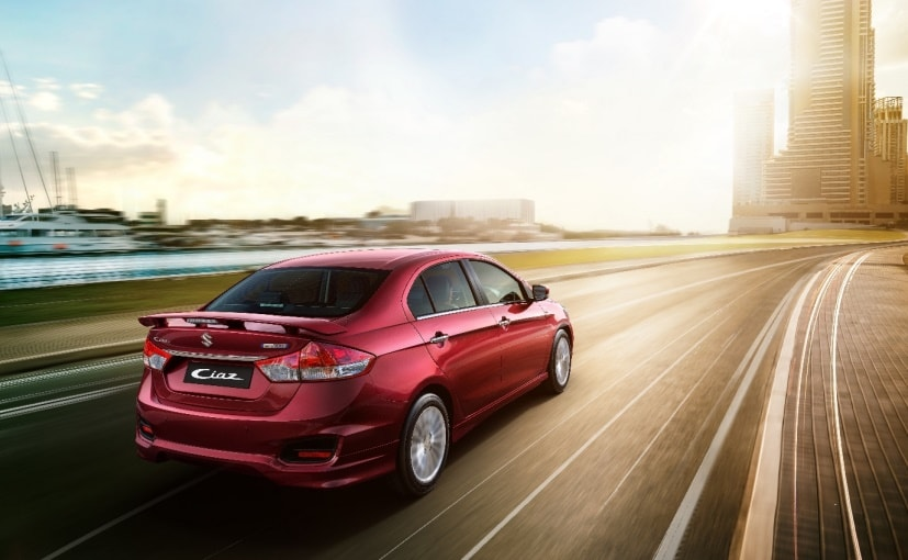 Maruti Suzuki launches Ciaz Sports at Rs 9.39 lakhs