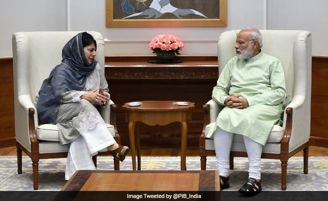 Alliance Intact As 2 BJP Ministers Resign, Mehbooba Mufti Thanks PM Modi