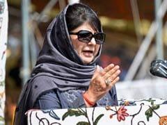 """Thank God, Cows Not Given Voting Rights"": Mehbooba Mufti's Dig At BJP"