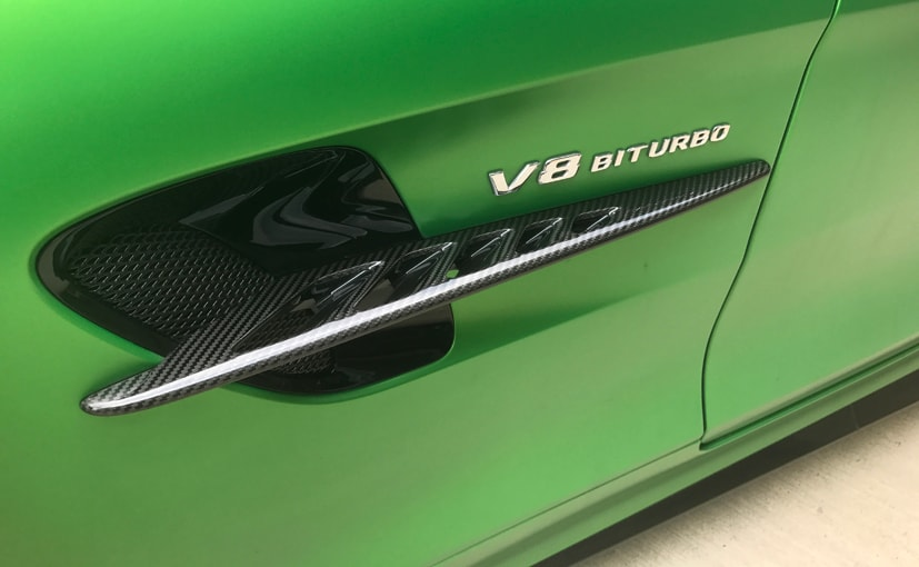 mercedes amg gt r in green hell magno