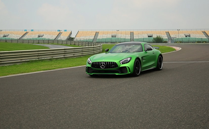 mercedes amg gt r rear wheel steering