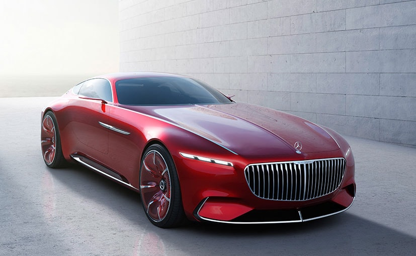 New Mercedes Benz >> Mercedes Benz Teases New Maybach Vision Concept Ahead Of