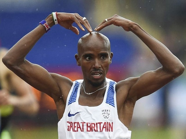 Mo Farah Motors Home In Victorious Adieu To Home Crowd