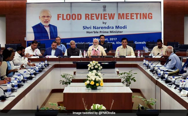 PM Narendra Modi Announces Package Of Rs 2,350 Crore For Floods In North East