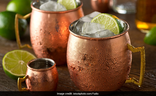 Are You Fond of Drinking Cocktails in a Copper Mug? It May Cause Food Poisoning