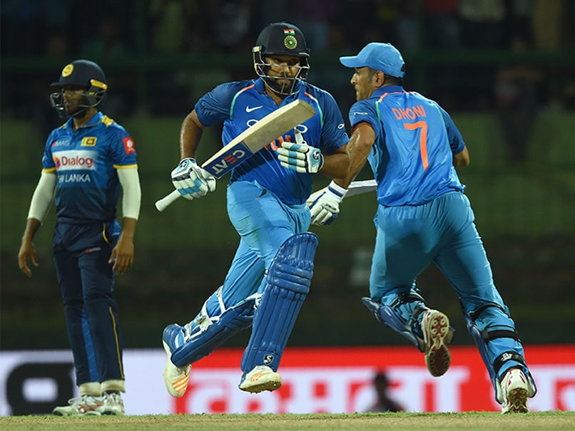 3rd ODI: Rohit Sharma, MS Dhoni Help India Beat Sri Lanka By 6 Wickets, Clinch Series