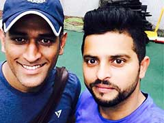 Suresh Raina, MS Dhoni Step Up Fitness Regime At The National Cricket Academy