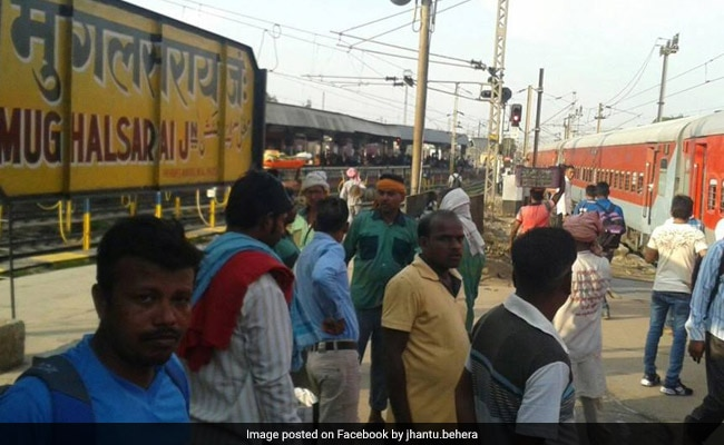 Mughalsarai railway station renamed after Deen Dayal Upadhyaya, opposition slams Centre