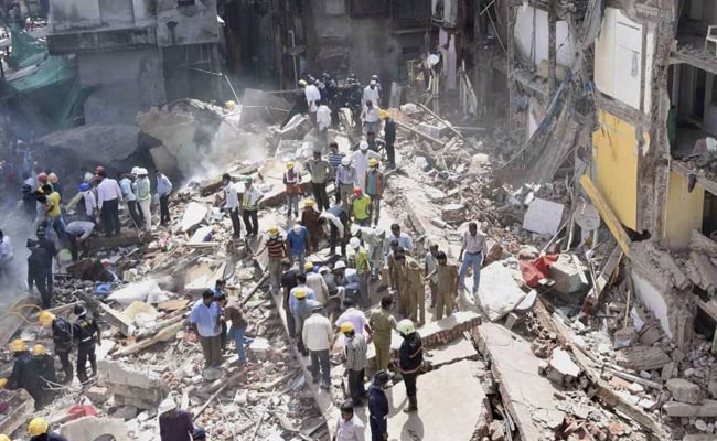 Mumbai Building Collapses Killing 32, Was Declared Unsafe 6 Years Ago