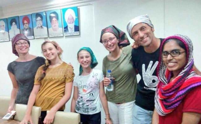 Stranded In Mumbai Rain, French Family Thanks Gurudwara For Help