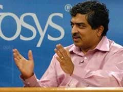 New Infosys Chairman Nandan Nilekani Addresses Media