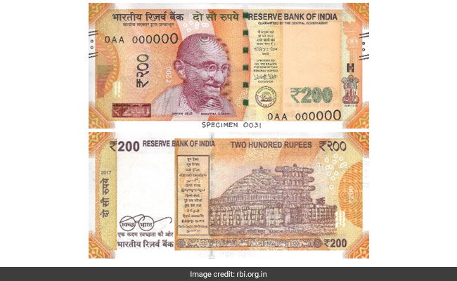 It's Official. Bright Yellow Rs. 200 Notes From Today: 10 Features