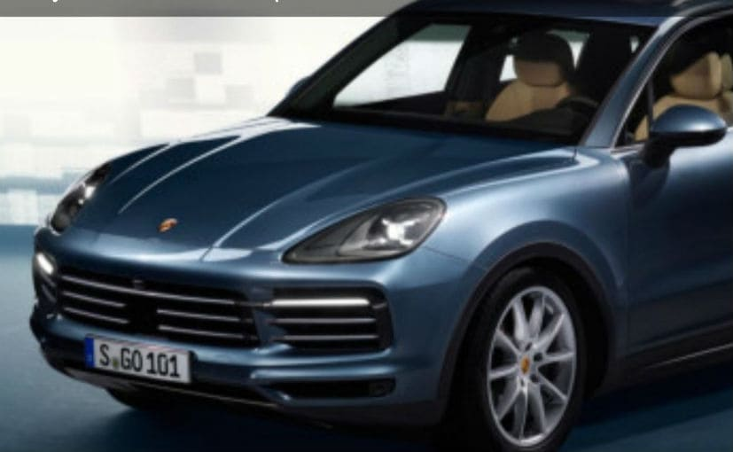 New 3rd Generation Porsche Cayenne Images Leaked