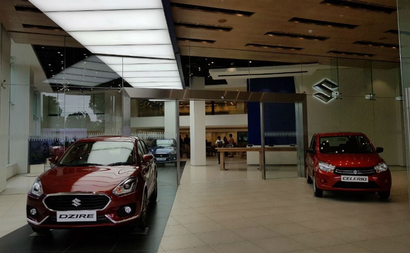 new maruti suzuki showroom design