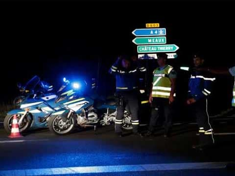 Car ploughs into pizzeria outside Paris, killing young girl, say reports: news agency Reuters