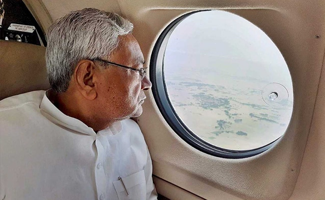 Nitish Kumar Thanks PM Modi For Sending Flood Relief Teams To Bihar