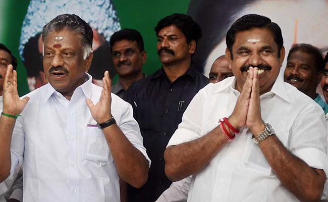 Awkward. OPS, 3-Time Tamil Nadu Chief Minister, Now Deputy To EPS
