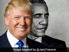 Donald Trump Retweets Bizarre Obama Eclipse Meme. The Internet Is Confused