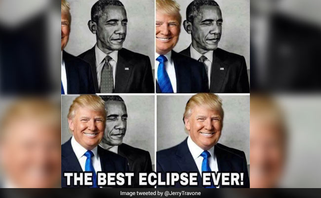 obama eclipse meme twitter 650_650x400_41503649063 trump retweets bizarre obama eclipse meme the internet is confused