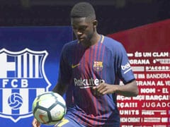 Ousmane Dembele's Barcelona Presentation Marred By Bartomeu Jeers