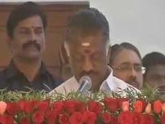 "Objective Of ""<i>Dharma Yudham</i>"" Achieved, Says O Panneerselvam"