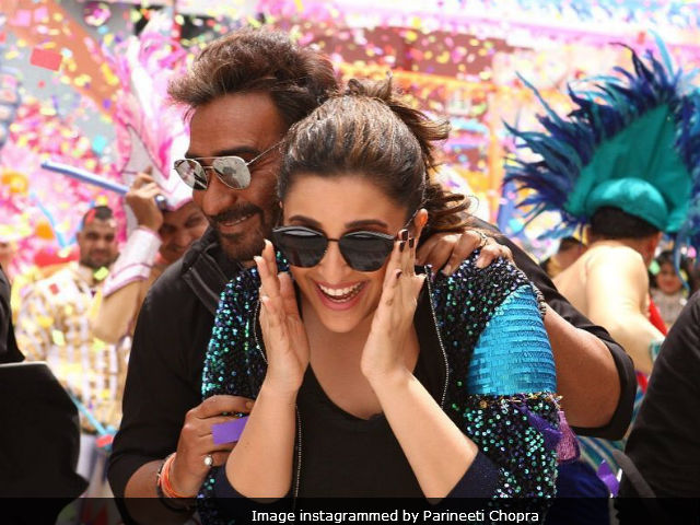 Parineeti Chopra Finds Ajay Devgn's Mimicry Amazing