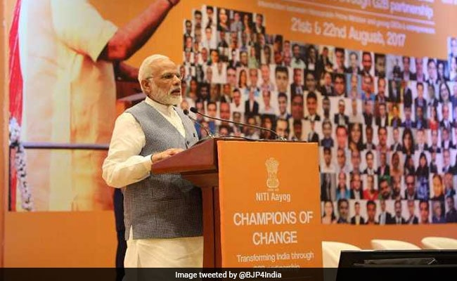 PM Modi to interact with 'agents of change'