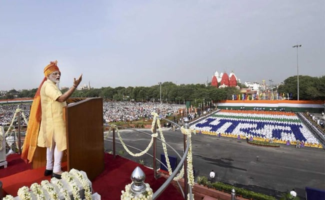 Independence Day Speech By Prime Minister Narendra Modi