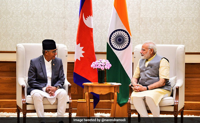 PM Narendra Modi, Nepal PM Deuba Hold Unscheduled Meeting Ahead Of Bilateral Talks