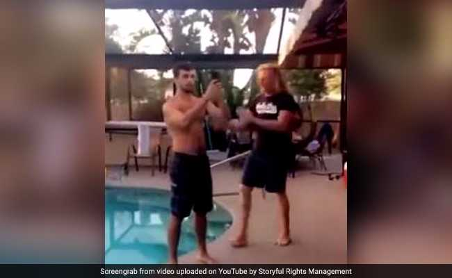 Pool Selfies Aren't Always A Good Idea. Let This Video Show You