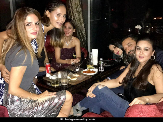 Inside Preity Zinta And Sussanne Khan's Party Diaries. A Night To Remember