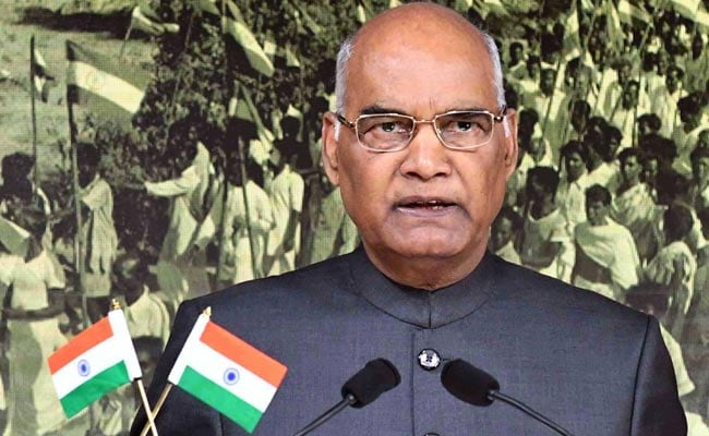 President Kovind Pauses Speech As Organisers Start Handing Out Food Boxes