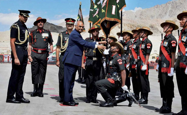 Leh: Ram Nath Kovind's First Visit Outside Delhi As President
